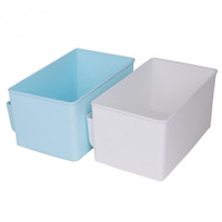 Wholesale Newest Cute Plastic Office Desktop Storage Boxes Makeup Organizer Storage Box Colors
