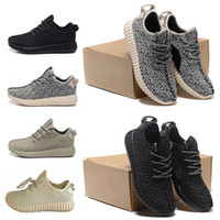 Wholesale Kanye West Desiged Boost Running Shoes Brand Sports Shoes Pirate Black Moonrock Oxford Tan Causal Shoes Men Shoes Women Shoes