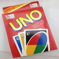 basketball puzzles - UNO Poker Card Standard Edition Family Fun Entermainment Board Game Kids Funny Puzzle Game g