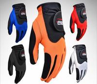 Wholesale Men s golf gloves slip gloves Mount of golf left hand glove Golf Club golf accessories supplies sophisticated