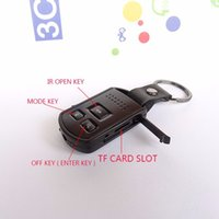 Wholesale NEW Mini p Camcorder Car Key Chain Nanny Camera DVR Digital Cam Video Recorder