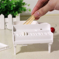 Wholesale M16 Piano Toothpick Box Automatic Pop Piano Keyboard Pressed Home Daily Creative Strange Gifts