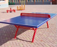 Wholesale SMC outdoor table tennis table tennis table tops rain and sun rainbow table tennis table legs residential square frame factory direct