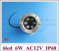 Wholesale high power W LED underwater light lamp LED swimming pool light fountain light AC12V W IP68