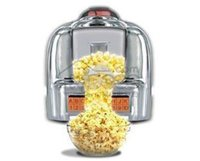 Wholesale Fully automatic white household popcorn machine star popcorn