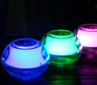 Wholesale Mini crystal night light humidifier office air purification device
