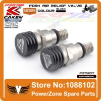 air bleeder valve - Fork Air Bleeder Relief Valve M5 MM Motorcycle Motocross Fit CR CRF YZ YZF WRF KX KXF RMZ