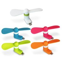 Wholesale Phone USB Fan Portable Dock Cool Cooler Rotating Fan for Apple iPhone Lighting Port Phone and Andriod OTG Funtion Phone