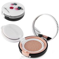 Wholesale Natural Bright Moisturizing Skincare Light Long Lasting Foundation Makeup Air Cushion CC Cream for Professional cc Creams