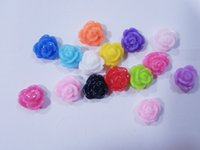Wholesale Nail Essential Nail Accessories Nail Resin Material Color Roses Bow Nail Jewelry DIY Nail Drill