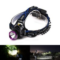 Wholesale Wholesales Lowest Price LM Reachargeble and Zoomable Headlight XML T6 LED Headlamp flashlight headlight Only For You