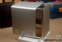 Wholesale Force PC Q01 black silver aluminum ITX mini case