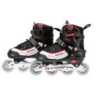 adjustable inline skate - Teens Teenager Inline Skate Adjustable Professional Skating Shoes EU38 Y2554