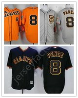 Wholesale Men s Sports MLB Baseball Jersey For Sale Giants Pence Jerseys San Francisco Mens Jerseys Accept Retail And Mixed Orders Embroidery
