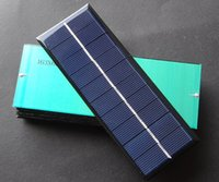 Wholesale 100pcs W V Poly solar panel