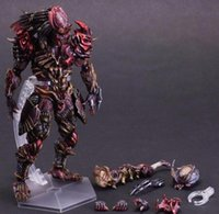 animation art - Action Figures Play Arts Predator change VARIANT movable hand Office animation model CM PCV
