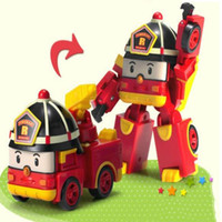 best fire truck - one baby toy car model transformation toy abs Q style toy mini fire fighting truck kids favorite toy child best gift cm