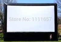 Wholesale 2014 commercial use inflatable movie screen for sale