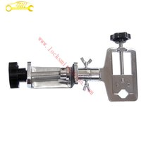 auto metal tools - High Quality Horizontal Adjustable Metal Alloy Adjustable Locksmith Tool Softcover Type Practice Lock Vise Clamp