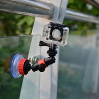anti vibration mounts - Action Video Suction Cup With Locking Arm to Use Anti Vibration Mount for GoPro and Other Action Video Cameras