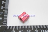 Wholesale Dip Switch Positions Silver Plated Contacts mm Pitch Through Hole