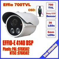 arrayed box - Security products surveillance camera tvl SONY ccd chipset dual array ir LED lamps box camera