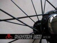 bicycle tire width - 23mm width U shape carbon mm Tubeless bicycle wheel with Powerway R13 ceramic bearing hub carbon fiber bicycle wheels