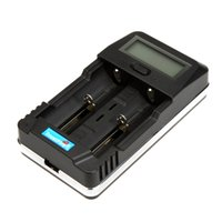 Wholesale 18650 Battery Charger TrustFire TR Digital Intelligent LCD Display Charger with USB Charging Port for Cellphone