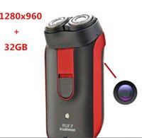 Wholesale 32GB Mini Spy Hidden Camera DVR Digital Video Audio Recorder Mini Shaver DV Home Security Surveillance Camcorders