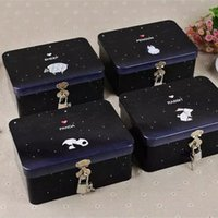 best spice storage - Spice Jar Iron Storage Box Exquisite Furnishing Articles starry Sky lock animal window High Quality And The Best Factory Price