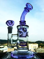 automatic adjustment - LED Light For Glass Water Smoking Pipes with Base purple bong glass bongs for Glass Bong Have Multi Colors Automatic Adjustment