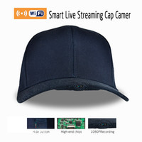 Wholesale portable cap style WIFI P View angle photo tape video local storage GB battery MINs plug and play