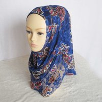 Wholesale Direct from Chinese factory plain muslim lace hijab Hot selling printed color lace instant Shawl