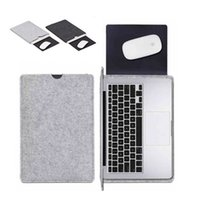 Wholesale Premium Wool Felt Soft Sleeve Bag Case Notebook Cover for quot quot quot Macbook Air Pro Retina Laptop Tablet PC Anti scratch