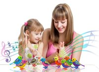 Wholesale Singing Birds Electronic Pets Solo or in a Choir Interactive Toys Music Electric Battery Included