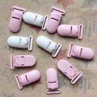 Wholesale 100pcs DIY Plastic Pacifier Clip For Ribbon Mix Colors KAM brand