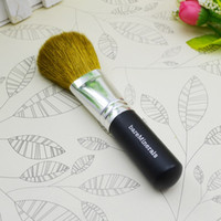 Mineral Wool - 100 minerals cosmetic brush with wool and wood handle powder brush blush brush soft makeup brush DHL free