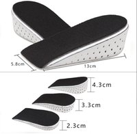 Wholesale 1 Pair Pop Unisex Increasing Orthotics Insole Lift Insert Pad Height Cushion Taller Male Footwear Women Shoes JTW45_3