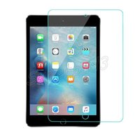 Wholesale 0 mm Ultra Thin Rounded Edge D H Tempered Glass Film For Ipad Pro quot quot Tablet PC Screen Protector