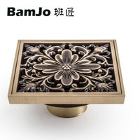 Wholesale New Good looking Brass Floor Drain with multifunction