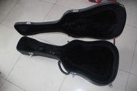 Wholesale 41 inch acústico guitarra de madeira mochila sacos de guitarra Hardcase guitarra mochila tipo especial com mala de couro