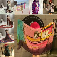 Wholesale Fashion pareo sarong blanket scarves Shawls Scarves Wraps Printed scarf fringe shawls scarves beach towel