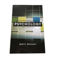 Wholesale How to Think Straight About PSYCHOLOGY by Keith E Stanovich