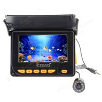 Wholesale quot Portable Fish Finder M HD Underwater Fishing Camera DVR Recorder Photo Degrees IR LED