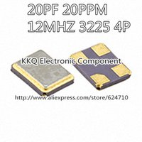 Wholesale Original pf ppm12MHZ P MHZ M M SMD Pin P Chip Passive Crystal Resonator ROHS Pb Free