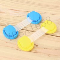Wholesale 10pcs set Cabinet Door Drawers Refrigerator Toilet Safety Plastic Lock For Child Kid baby safety