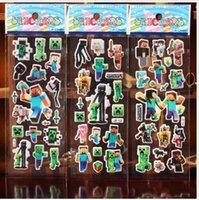 Wholesale Frozen Despicable me Minions Wall Stic D Cartoon Christmas Father Big Hero little Pony Kindergarten Reward hot sale