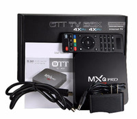 Wholesale MXQ Pro Android TV Box Amlogic S905 Digital TV Streaming Box Quad Core Android G wifi XBMC Fully Loaded