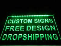 Wholesale design your own Custom LED Neon Light Sign Bar open Dropshipping logo men lighted logo signs