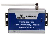 Wholesale RTU GSM SMS Temperature Alarm GSM Automatically Mobile alert high low temperature